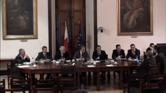 Presentation on the Exhibition of the Parliament of Malta